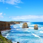 The Great Ocean Road: an amazing scenic drive in Australia.